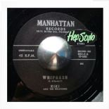 "45Re ✦ RIKI & THE RIKATONES ✦ ""Whipnash / T.N.T"" Monster Rockabilly Jiver♫"